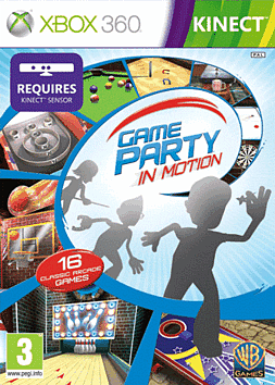 Game Party: In Motion for Kinect Xbox 360 Kinect Cover Art