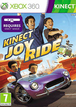 Kinect Joyride Xbox 360 Kinect Cover Art