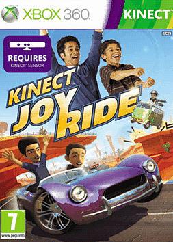 Kinect Joyride Xbox 360 Kinect Cover Art