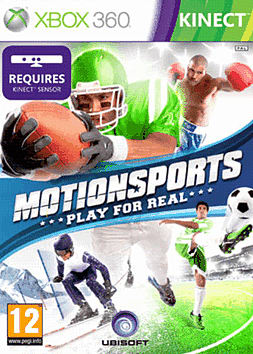 Motion Sports: Kinect Xbox 360 Kinect Cover Art
