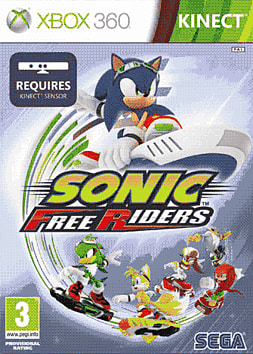 Sonic Free Riders: Kinect Xbox 360 Kinect