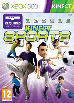 Kinect Sports Xbox 360 Kinect Cover Art