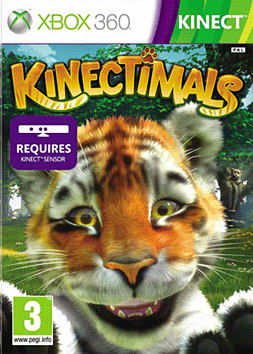 Kinectimals Xbox 360 Kinect Cover Art