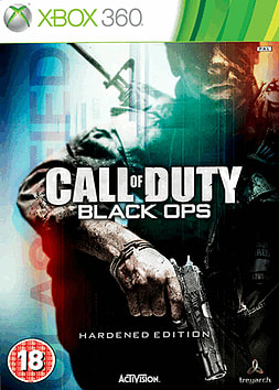 Call of Duty: Black Ops Hardened Edition (with GAME Exclusive Preorder Pack) Xbox 360 Cover Art