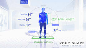 Your Shape Fitness Evolved - Kinect screen shot 1