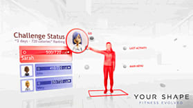 Your Shape Fitness Evolved - Kinect screen shot 2