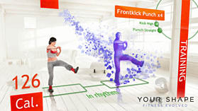 Your Shape Fitness Evolved - Kinect screen shot 4