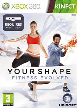 Your Shape Fitness Evolved - Kinect Xbox 360 Kinect Cover Art