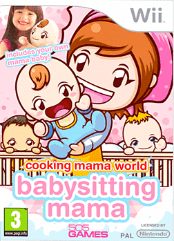 Cooking Mama World: Babysitting Mama Wii Cover Art