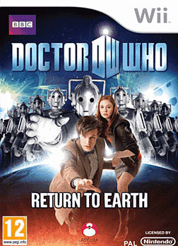 Dr Who: Return To Earth Wii Cover Art