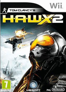 Tom Clancy HAWX 2 Wii Cover Art