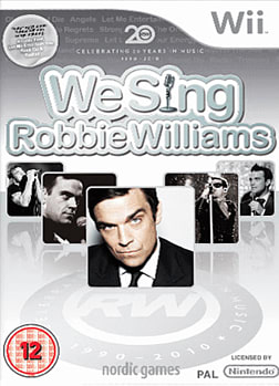 We Sing: Robbie Williams (Software Only) Wii Cover Art