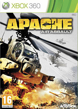 Apache Air Assault Xbox 360 Cover Art