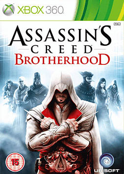 Assassin's Creed: Brotherhood Xbox 360 Cover Art