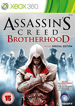 Assassins Creed: Brotherhood Special Edition Xbox 360 Cover Art