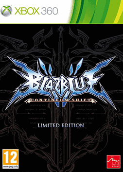 BlazBlue: Continuum Shift Limited Edition Xbox 360 Cover Art
