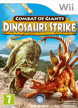 Combat Of Giants: Dinosaurs Strike Wii Cover Art