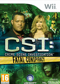 CSI: Fatal Conspiracy Wii Cover Art