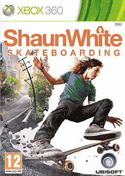 Shaun White Skateboarding Xbox 360 Cover Art