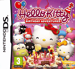 Hello Kitty Birthday Adventures DSi and DS Lite Cover Art
