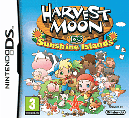 Harvest Moon 3 Sunshine Islands DSi and DS Lite Cover Art