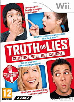 Truth or Lies: Someone Will Get Caught Wii Cover Art