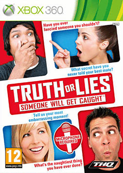 Truth or Lies: Someone Will Get Caught Xbox 360 Cover Art