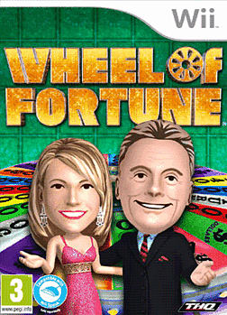 Wheel of Fortune Wii Cover Art