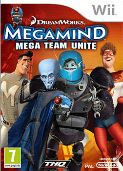 Megamind Wii Cover Art