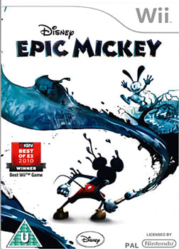 Epic Mickey Wii Cover Art