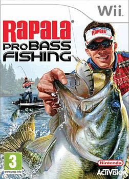 Rapala Pro Bass Fishing (with Rod) Wii Cover Art