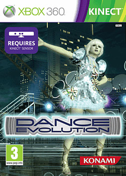 Dance Evolution Xbox 360 Kinect Cover Art