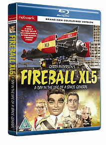 Fireball XL5: A Day in the Life of a Space General Blu-ray