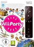 Wii Party + Wii Remote Controller Black Wii