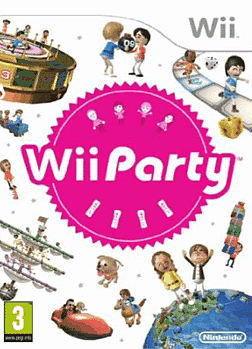 Wii Party Wii Cover Art