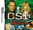 CSI: Unsolved DSi and DS Lite