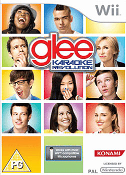 Karaoke Revolution Glee (with Microphones) Wii Cover Art