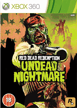Red Dead Undead Nightmare Collection Xbox 360 Cover Art