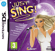 Just Sing DSi and DS Lite