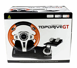 Logic 3 Top Drive GT Wheel 3 in 1 Accessories