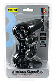 Logic 3 PS3 RF Steath Controller Accessories