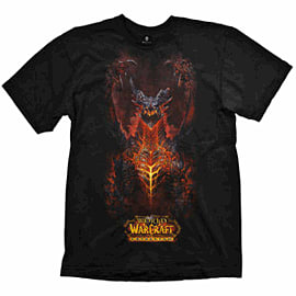 T-Shirt World of Warcraft DW Stand Large Clothing and Merchandise