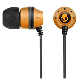 Skullcandy Ink'd Orange and Black Electronics