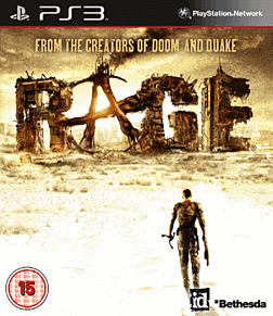 Rage PlayStation 3 Cover Art