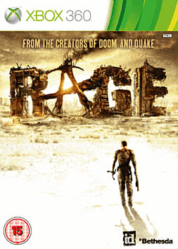Rage Xbox 360 Cover Art