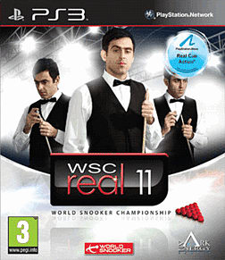 WSC Real 2011 (World Snooker Championship) PlayStation 3 Cover Art