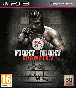 Fight Night Champion PlayStation 3 Cover Art
