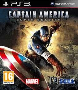 Captain America: Super Soldier PlayStation 3 Cover Art