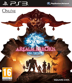 Final Fantasy XIV PlayStation 3 Cover Art
