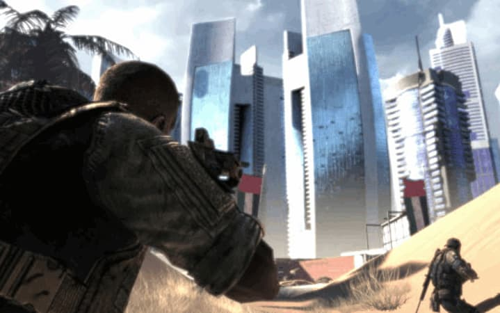 Dubai is the setting for the bleak Spec Ops the Line on PS Xbox 360 and PC at GAME